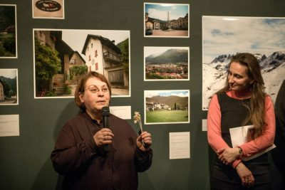 Фотограф и журналист Ольга Рачковская, помощник Генерального консула Швейцарии в Санкт-Петербурге Наталия Богданович