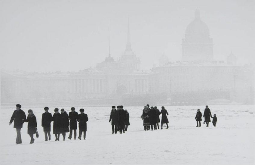 Борис Конов. Нева замёрзла. 1981