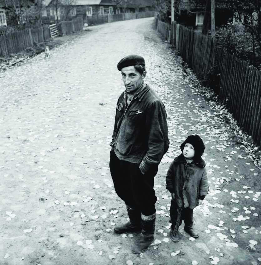 Antanas Sutkus-1969 Village Street, 2