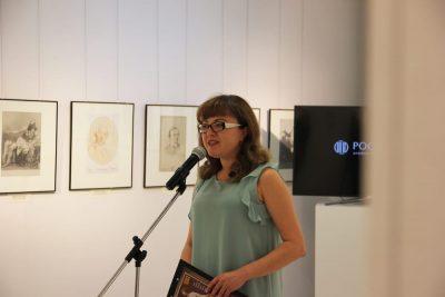 Ведущая — Юлия Анатольевна Рыбенцева, заведующая культурно-просветительским отделом