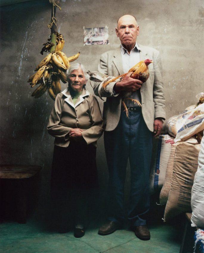 Maria Arcelia Rodriguez, 76 Jahre, Cesar Efrain Calderon, 73 Jahre, Chillanquer, Kolumbien 2010